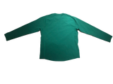 Jake Singer Notre Dame Team Issued Green Quarter-Zip Pullover
