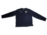 Jake Singer Notre Dame Team Issued Dark Blue Quarter-Zip Pullover