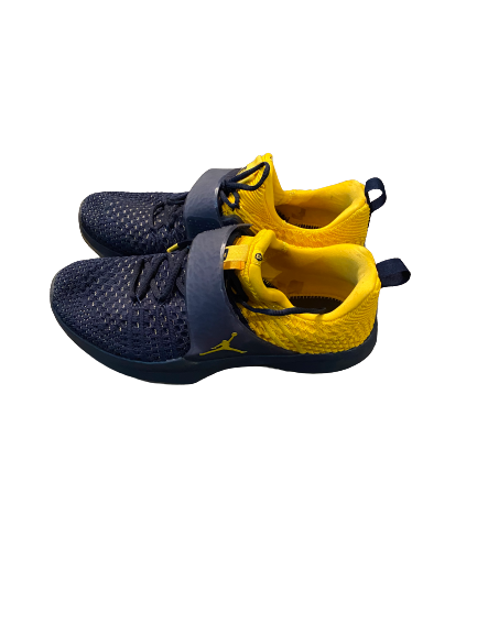 Quinn Nordin Michigan Football Team Issued Shoes (Size 11)