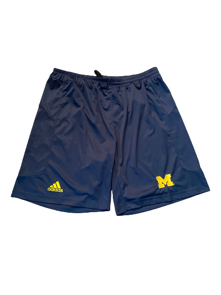 Quinn Nordin Michigan Football Team Issued Workout Shorts (Size XL)