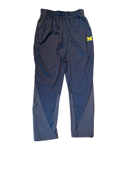 Quinn Nordin Michigan Football Team Issued Jordan Sweatpants (Size L)