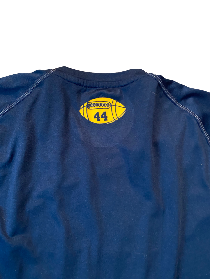 #44 Michigan Football Team Issued Workout Shirt (Size XL)