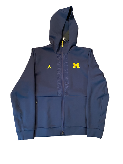 Quinn Nordin Michigan Football Team Issued Sweatshirt (Size L)