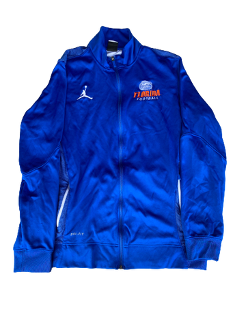Nick Oelrich Florida Football Team Exclusive Travel Jacket (Size L)