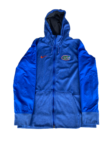 Nick Oelrich Florida Football Team Issued Travel Jacket (Size L)