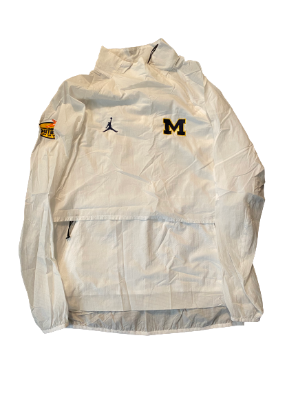 Quinn Nordin Michigan Football Player Exclusive Outback Bowl Jacket (Size L)