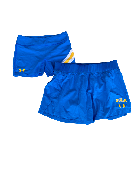 Lily Justine UCLA Set of (2) Workout Shorts (Size M)