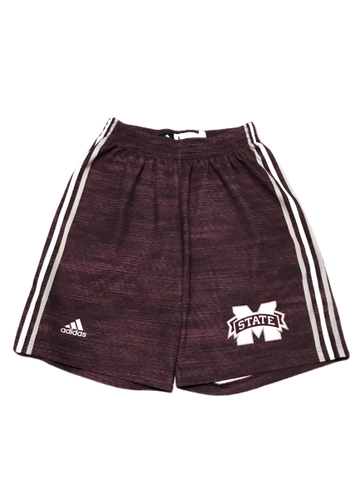 Mitchell Storm Mississippi State Player Exclusive Adidas Practice Shorts