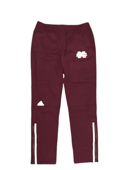 Mitchell Storm Mississippi State Adidas Warm-Up Sweatpants