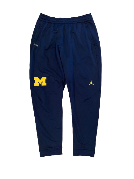 Benjamin St-Juste Michigan Football Team Issued Sweatpants (Size XL)