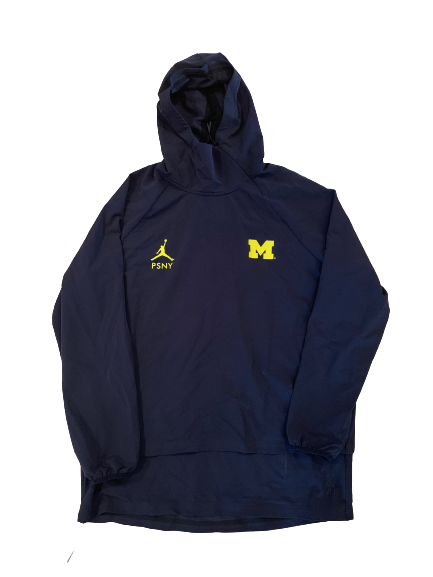Benjamin St-Juste Michigan Football Player Exclusive PSNY Jacket (Size L)