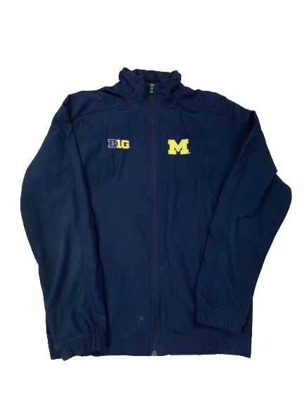 Benjamin St-Juste Michigan Football Team Issued Jacket (Size M)