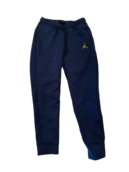 Benjamin St-Juste Michigan Football Team Issued Sweatpants (Size L)