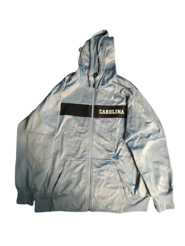 Jake Bargas UNC Jordan Zip-Up Jacket
