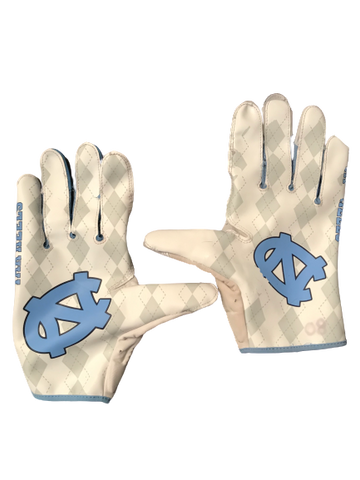 Jake Bargas UNC Jordan Game Worn Gloves