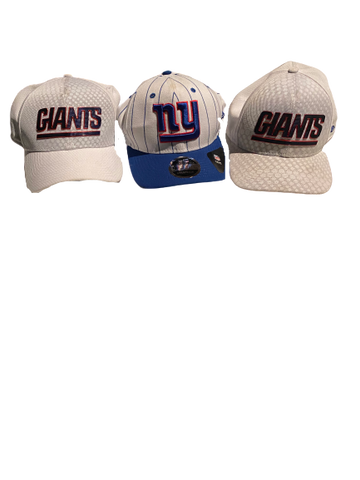 Shane Smith New York Giants Hat Set (Set of 3)