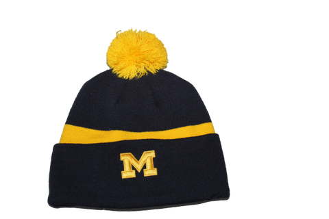 Michigan Jordan Beanie Winter Hat