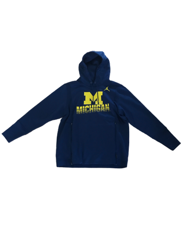 Michigan Jordan Hooded Sweatshirt