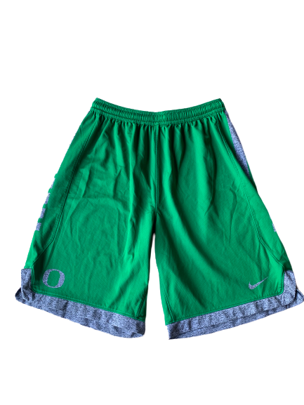 Shakur Juiston Oregon Nike Practice Shorts