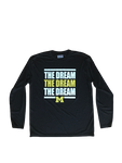 "Michigan Team Exclusive MLK Day ""THE DREAM"" Long Sleeve Shirt (Size L)"