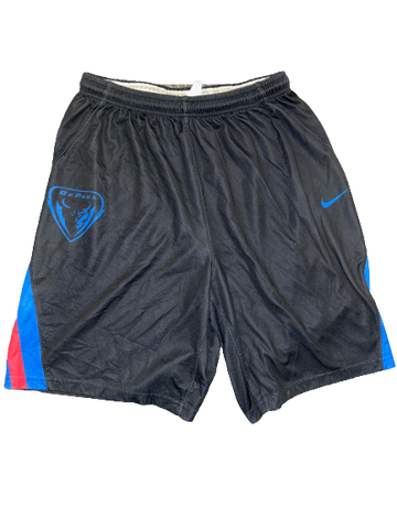 Eli Cain DePaul Basketball Team Exclusive Practice Shorts (Size XL)