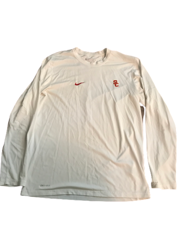 Jonathan Lockett USC Team Issued Long Sleeve Shirt (With #23 on back)