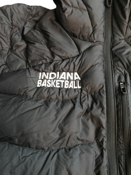 Freddie McSwain Jr. Indiana Team Exclusive Winter Coat (Size XL)