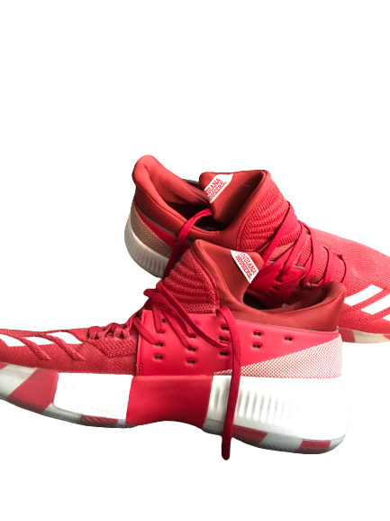 Freddie McSwain Jr. Indiana player Exclusive Adidas Shoes