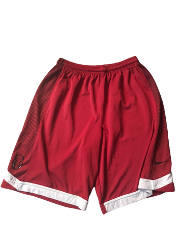 Adrio Bailey Arkansas Nike Practice Shorts (Size XL)