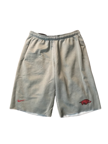 Adrio Bailey Arkansas Nike Sweat Shorts (Size L)
