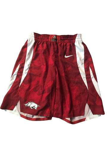 Adrio Bailey Arkansas Game-Worn Shorts (2018-2019 Season)