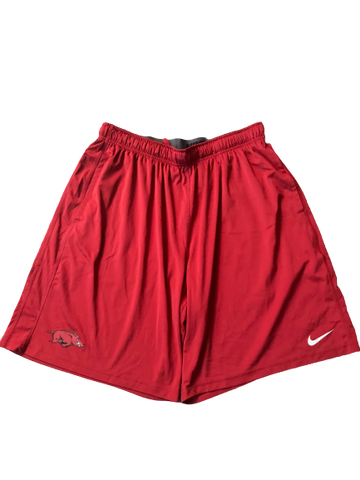Adrio Bailey Arkansas Nike Shorts (Size XXL)