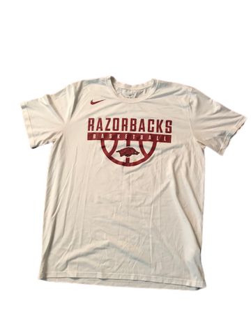 Adrio Bailey Arkansas Basketball Nike T-Shirt (Size XL)