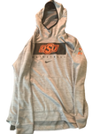 Jonathan Laurent Oklahoma State Team Issued Travel Sweatshirt (Size XL)