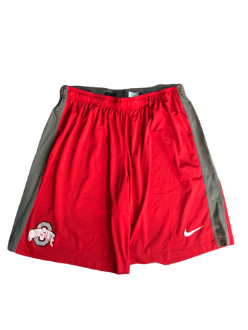Rashod Berry Ohio State Team Issued Nike Shorts (Size XXXL)