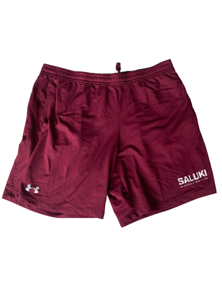 Barret Benson Southern Illinois Team Issued Shorts