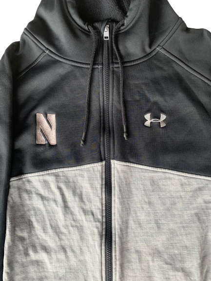 Barret Benson Northwestern Team Issued Jacket