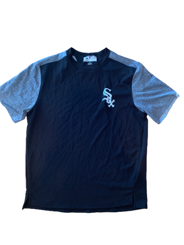 Adam Engel Chicago White Sox Team Issued Short-Sleeve Shirt (Size L)