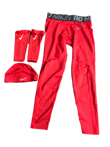 Cedric Peterson Nike Compression Set (Cap, Sleeves, Pants)