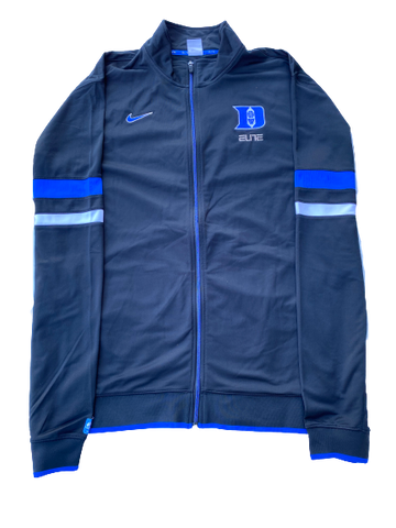 Kyle Singler Duke Full-Zip Warm-Up Jacket (Size XXLT)