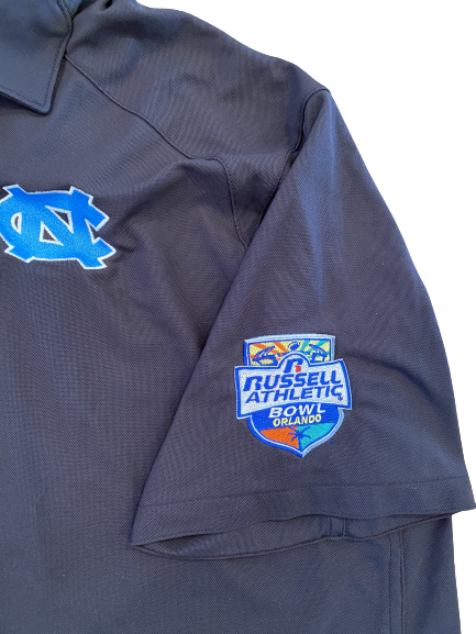 "Carl Tucker North Carolina Football Team Exclusive ""Russell Athletic Bowl"" Polo Shirt (Size XL)"