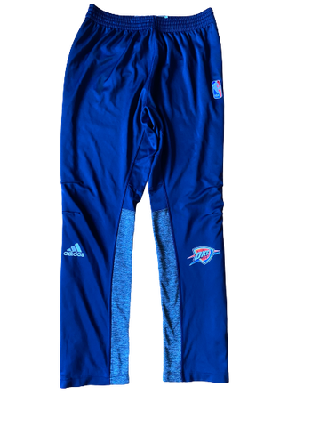 Kyle Singler Oklahoma City Thunder Game Warm-Up Snap-Off Pants (Size XL)