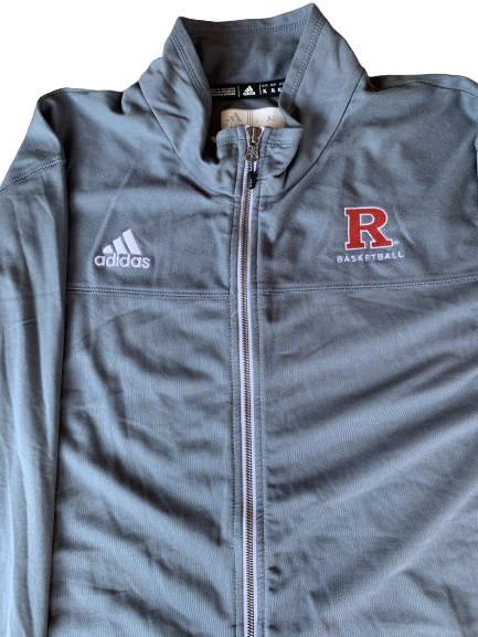 Deshawn Freeman Rutgers Basketball Team Issued Jacket (Size XLT)