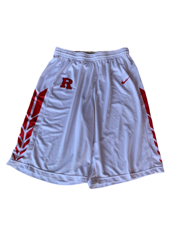 Deshawn Freeman Rutgers Team Exclusive Game Worn Shorts (Size XLT)