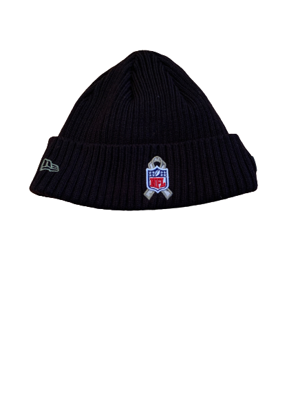 "Sean Harlow Atlanta Falcons Team Issued ""Salute To Service"" Beanie Hat"