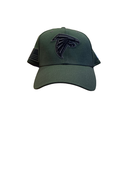 "Sean Harlow Atlanta Falcons Team Issued ""Salute To Service"" Hat"