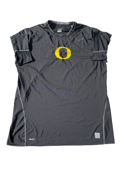 "E.J. Singler Oregon Player Exclusive ""Own The Knight"" Workout Shirt (Size XXL)"