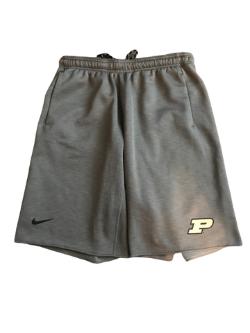 P.J. Thompson Purdue Nike Sweat Shorts (Size L)