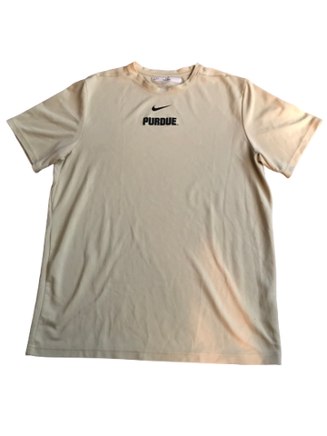 P.J. Thompson Purdue Nike Shooting Shirt (Size L)