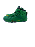 E.J. Singler Oregon Nike LeBron James Sneakers (Size 12.5)